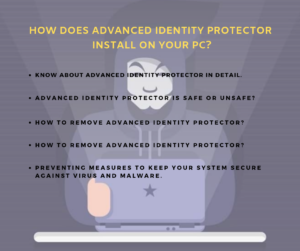 remove Advanced Identity Protector
