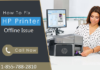 HP Printer is Offline its Casus and Universal Solution Available