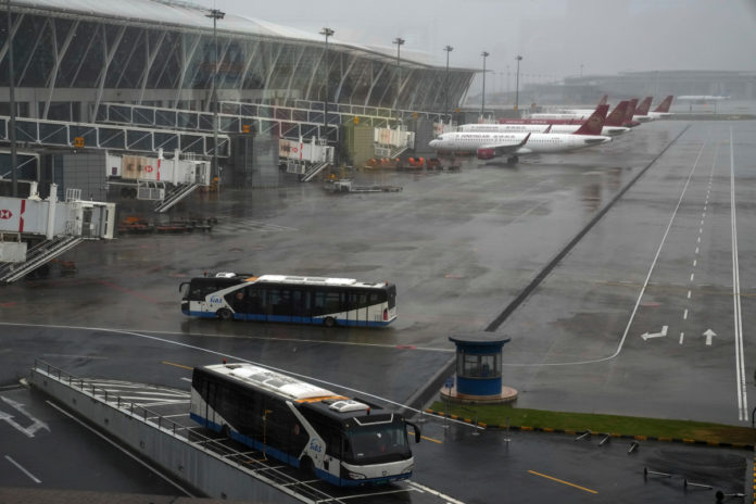 Typhoon In-fa arrives at China's east coast