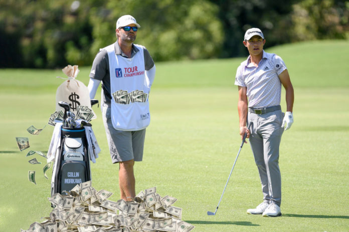 How golf caddies became some of the highest-paid men in sports