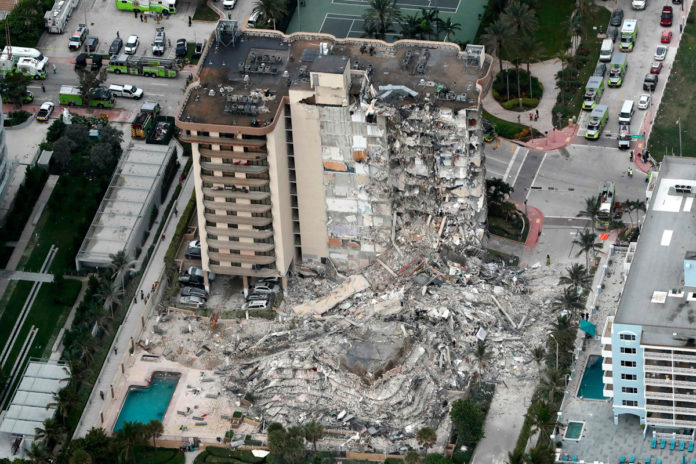 Architect of collapsed Florida condo suspended years ago for structural failure