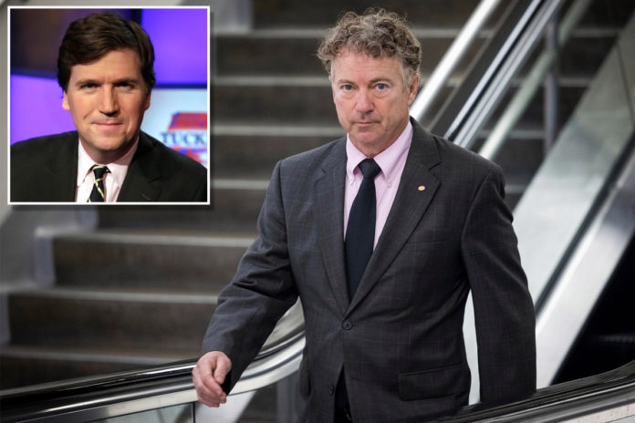 Rand Paul calls for NSA investigation into Tucker Carlson allegations