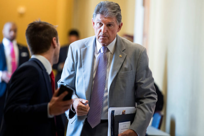 Joe Manchin says both infrastructure bills should be paid for