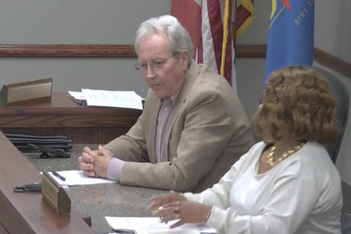 Wife of Alabama councilman who used racial slur fears he'll be shot