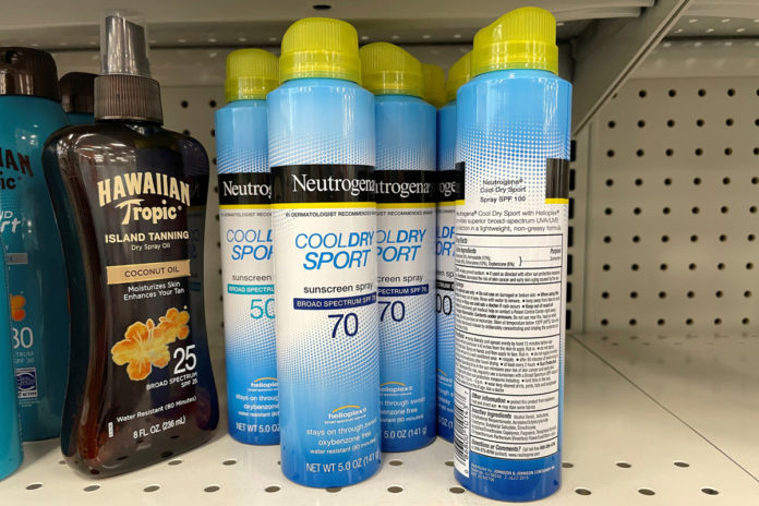 Customers feel 'betrayed' by J&J over sunscreen recall