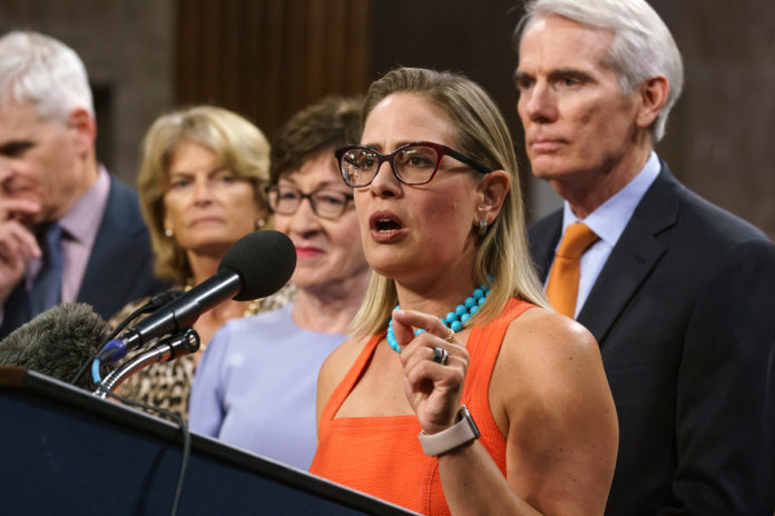 Sen. Sinema reportedly won't put off vacation for reconciliation vote