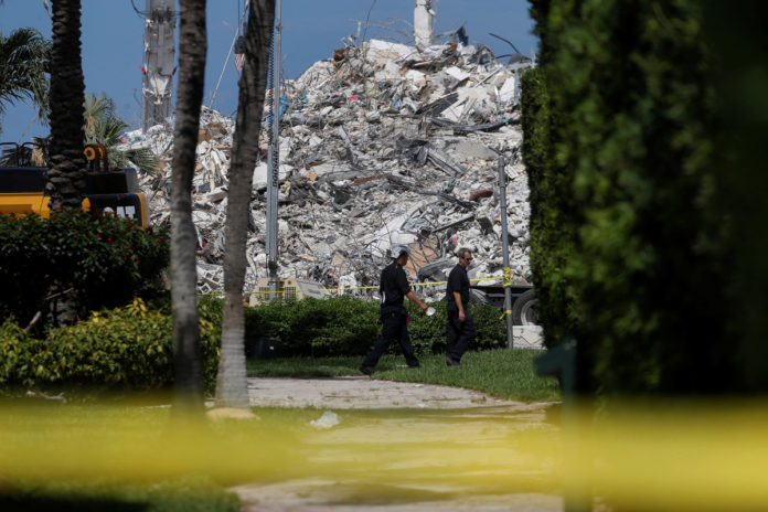 Florida building collapse death toll up to 64, 76 unaccounted