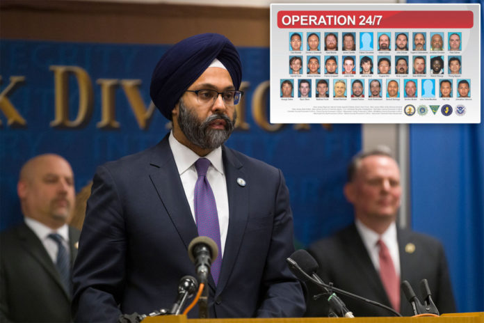 31 suspects busted in NJ probe of online sexual predators