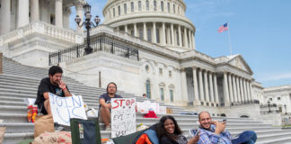 Squad members turn Capitol Hill into homeless encampment