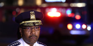 DC police chief Robert Contee 'mad as hell' over shooting outside restaurant