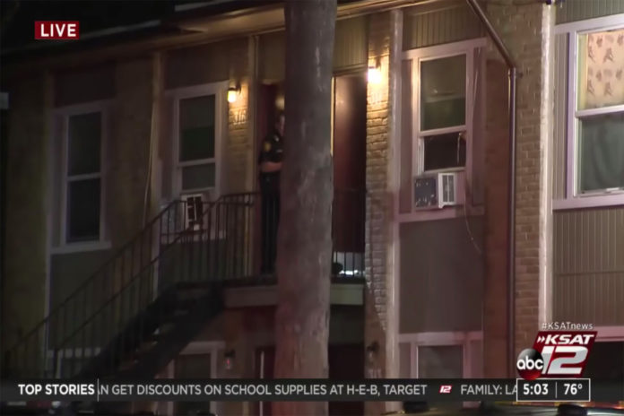 San Antonio children lead police to bloody mother wounded from stabbing