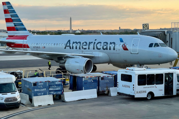 American Airlines passenger arrested after refusing to wear mask