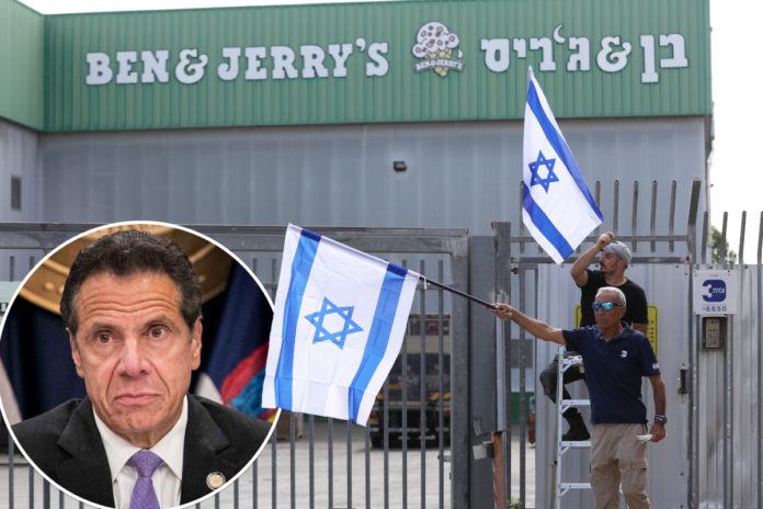 Cuomo pressured to cut NY ties with Ben and Jerry's over Israel sales ban