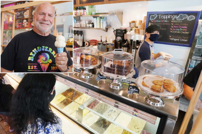 NYC Ben & Jerry's blames West Bank ban for slow sales