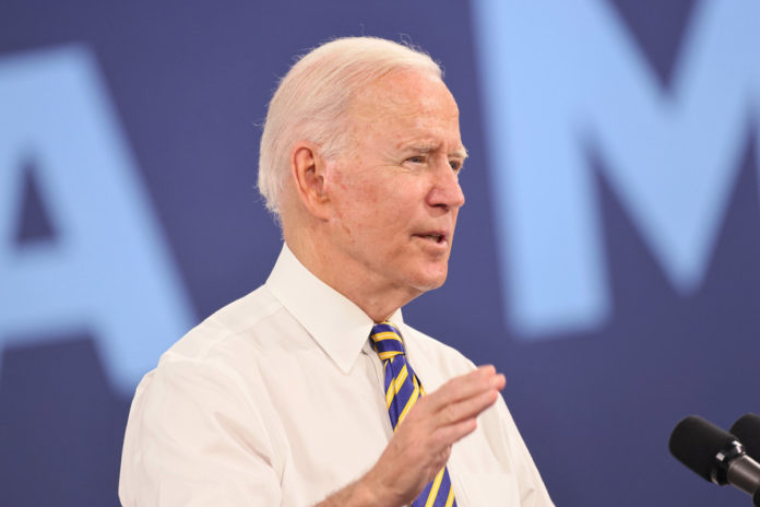 Biden claims three reasons he ran for president, forgets one
