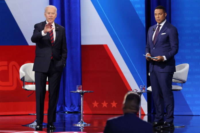 CNN Biden town hall loses out to Fox News, MSNBC in ratings