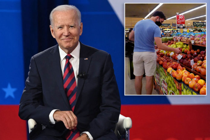 Biden again rejects inflation concerns, claims it's temporary