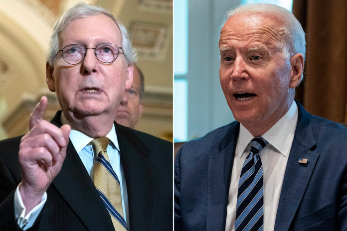 McConnell 'can't imagine' any GOP senator would vote to raise debt limit