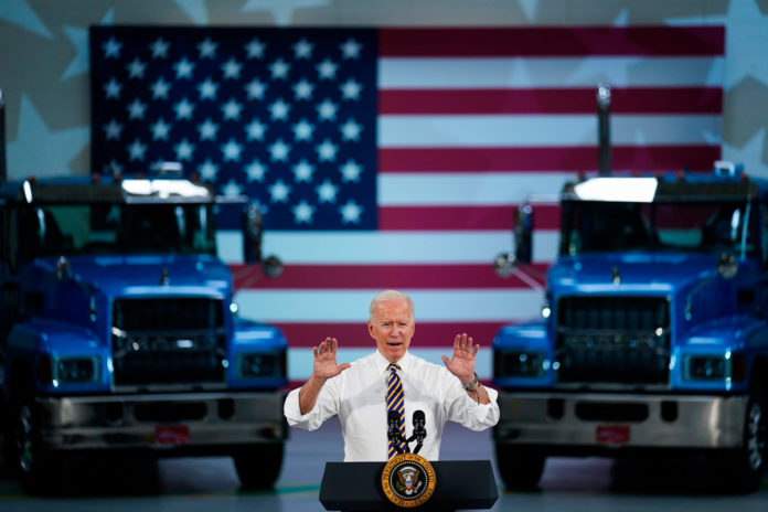 Biden mocked for claiming he 'used to drive an 18-wheeler'