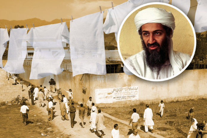 How Osama bin Laden was found by his family's hanging laundry