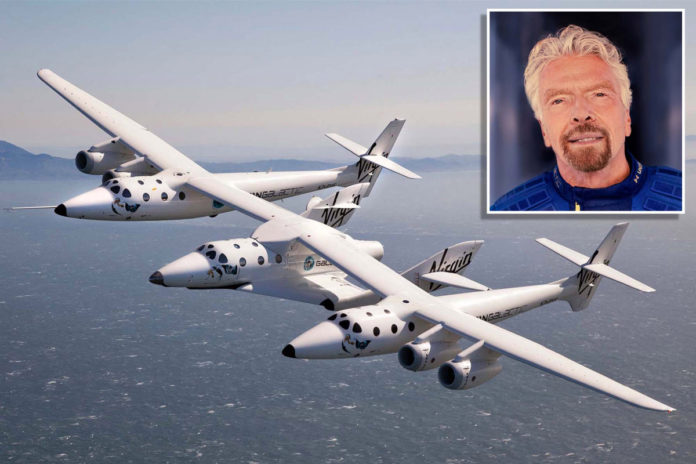 Richard Branson to fly to space on Virgin Galactic rocket
