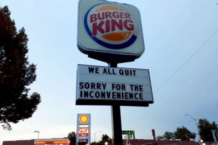 Public message from Burger King workers to bosses goes viral