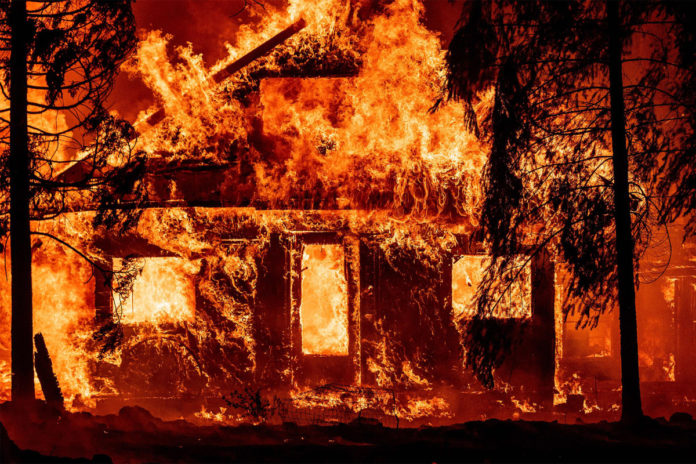 CA wildfire torches homes as blazes continue in Western US