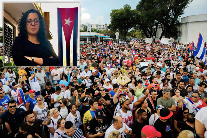 Spain demands release of journalist Camila Acosta amid Cuban protests