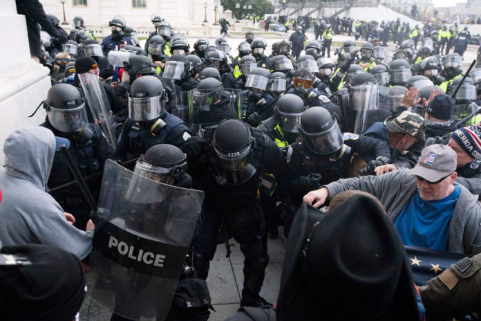 Capitol Police officers face furloughs unless Congress approves funding