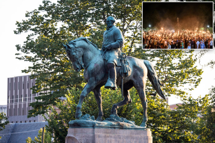 Charlottesville to take down Robert E. Lee statue that was focus of deadly rally