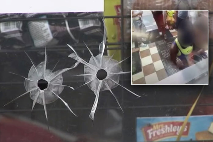 Horrifying video captures shooting of 1-year-old girl
