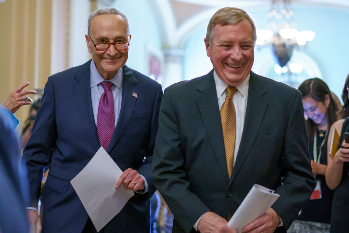 Chuck Schumer expected to bring up $1.2T deal for another vote