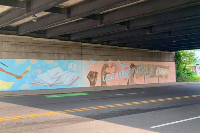 NJ mural to be removed amid complaints over BLM-style fist