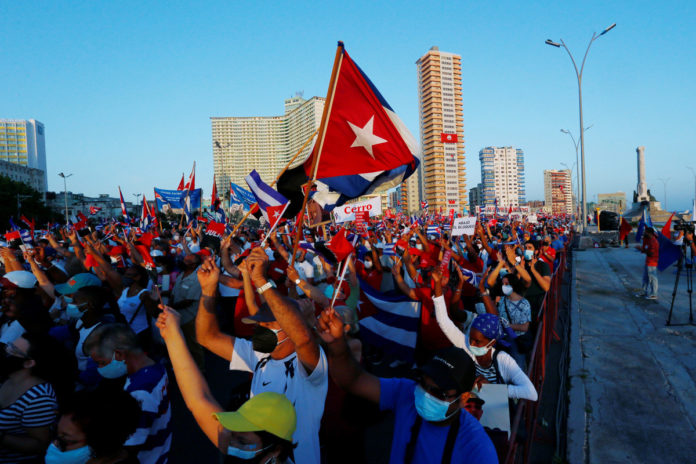 Biden may boost staff at US embassy in Cuba amid protests