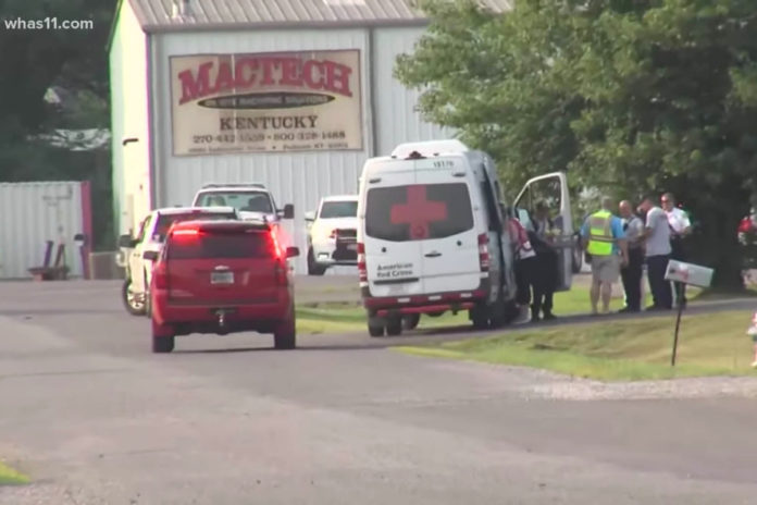 10 hurt in explosion at Dippin' Dots factory in Kentucky