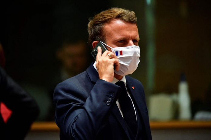 Emmanuel Macron changes phone after reportedly being targeted with Pegasus spyware