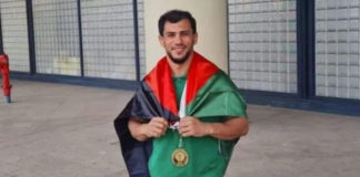 Algerian Olympian suspended for not competing against Israeli athlete