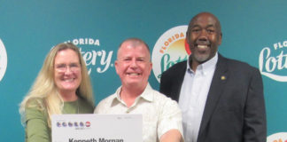 Florida man finds $1M winning lottery ticket while cleaning