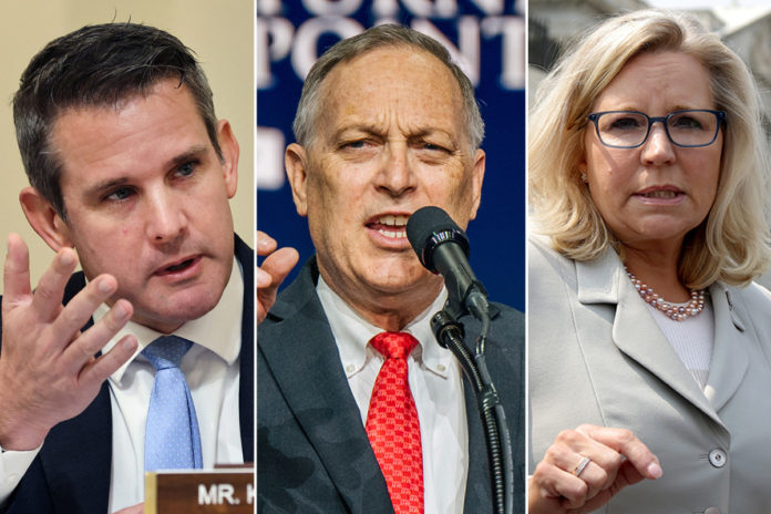 GOP pushes to oust Liz Cheney, Adam Kinzinger from House conference