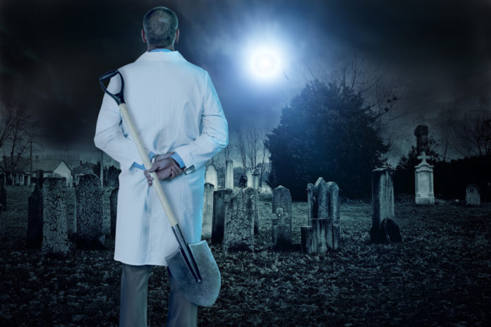 Inside the grisly practices of grave-robbing doctors