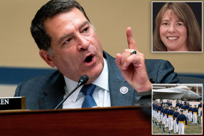 Congressman wants Air Force prof yanked for critical race theory