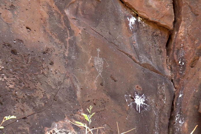 Hawaiian police search for vandals who damaged ancient petroglyphs