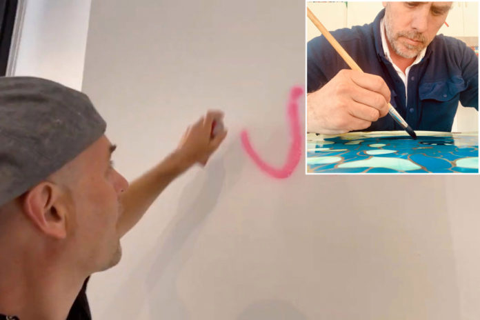 Activist Rod Webber charged with vandalizing NYC gallery selling art Hunter Biden released