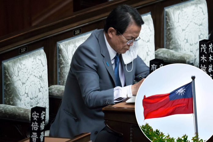Chinese issues warning to Japan over defense of Taiwan