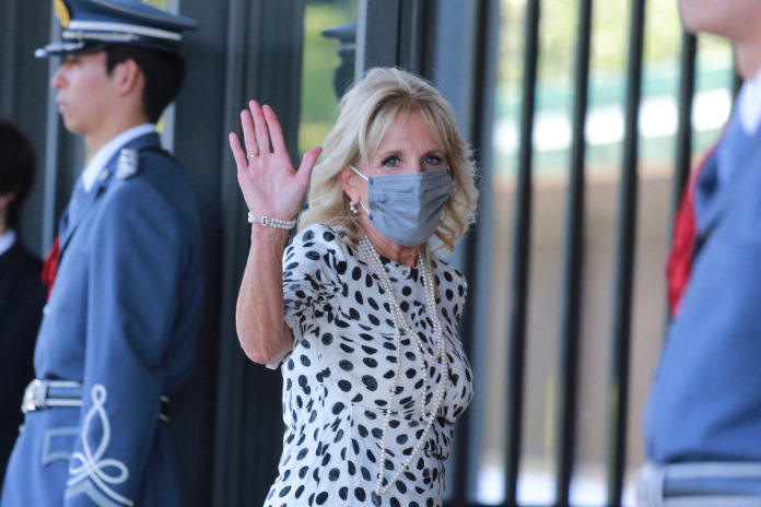 Jill Biden treated for puncture on foot after Hawaii visit