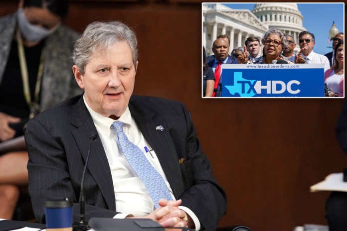 Sen. John Kennedy blasts Texas Dems for 'playing the victim' over election bill