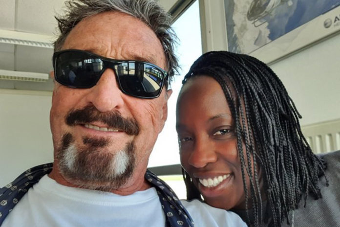 John McAfee's wife releases suicide note she says is fake