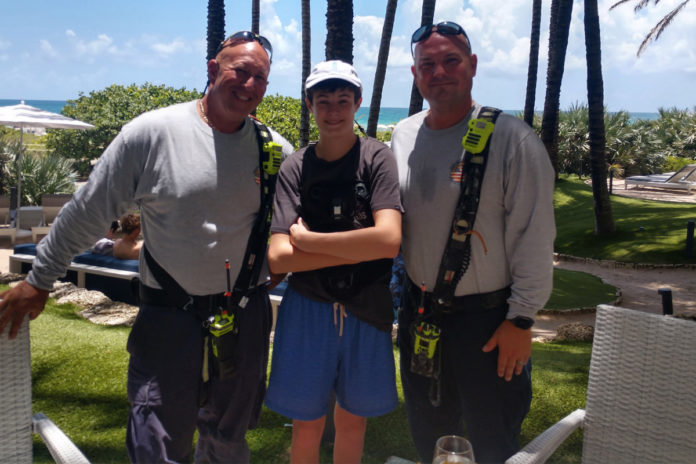 Teen survivor of FL building collapse reunites with first responders