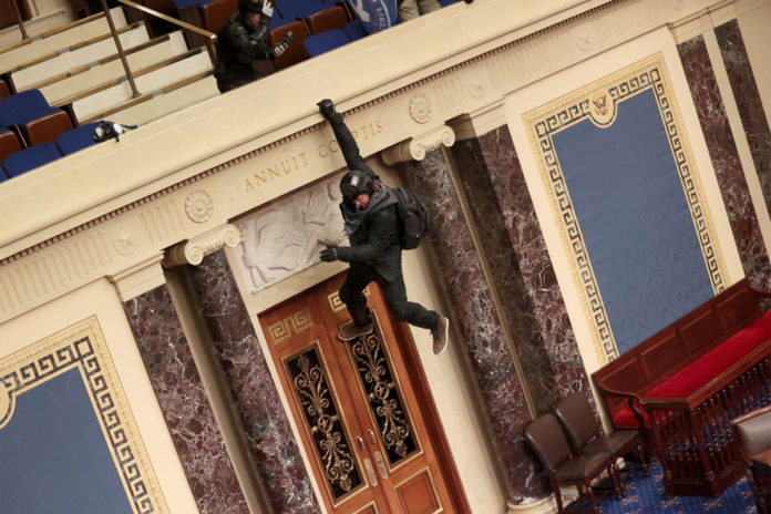 Josiah Colt who dangled from Senate chamber in Capitol riot pleads guilty