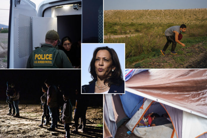 Harris releases migration strategy amid border crisis